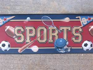 Sports Theme Wallpaper Border