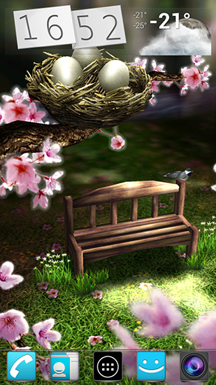 Spring Zen Live Wallpaper