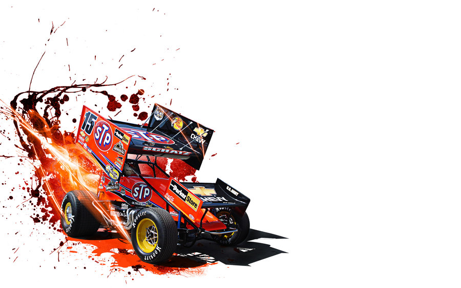Sprint Car Wallpaper