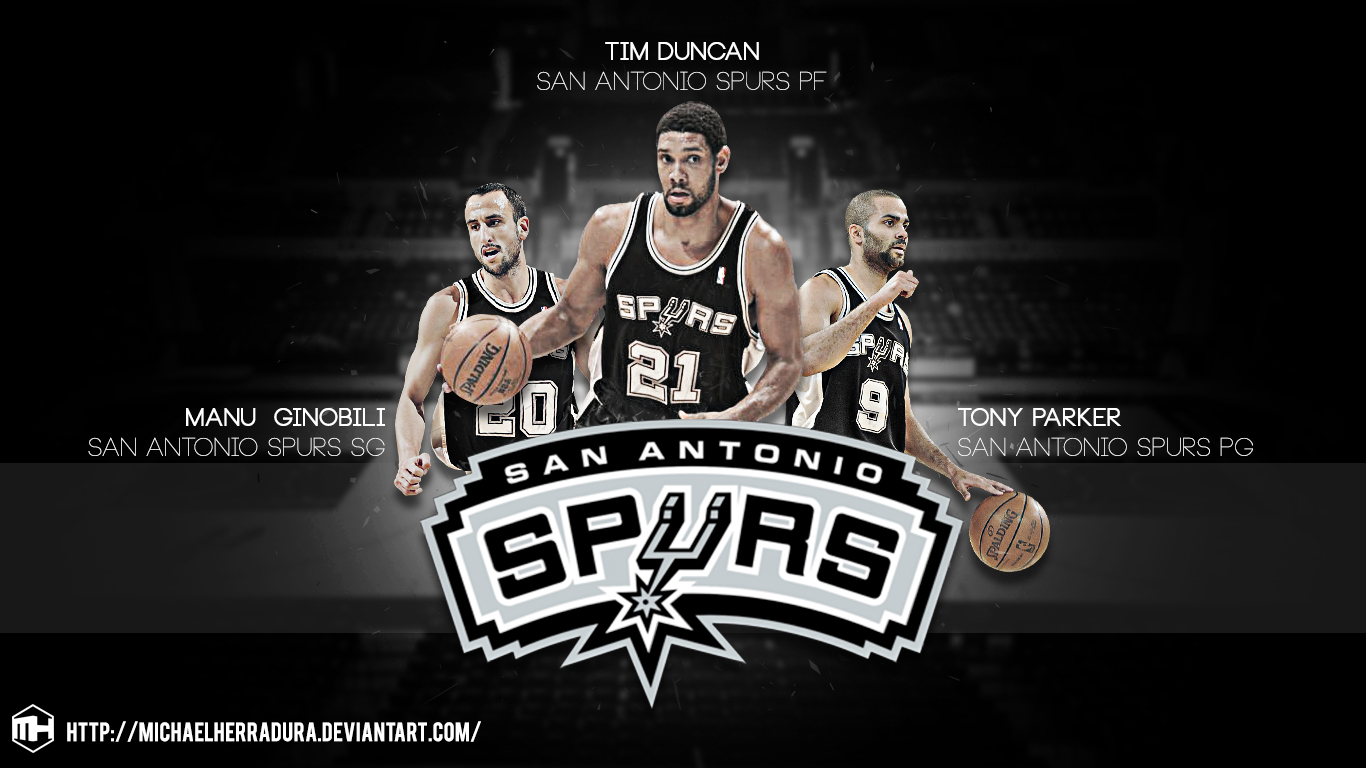 Spurs Big 3 Wallpaper