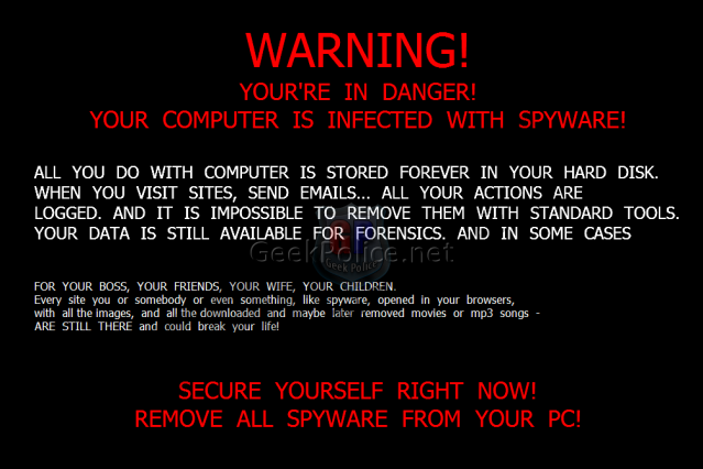 Spyware Wallpaper