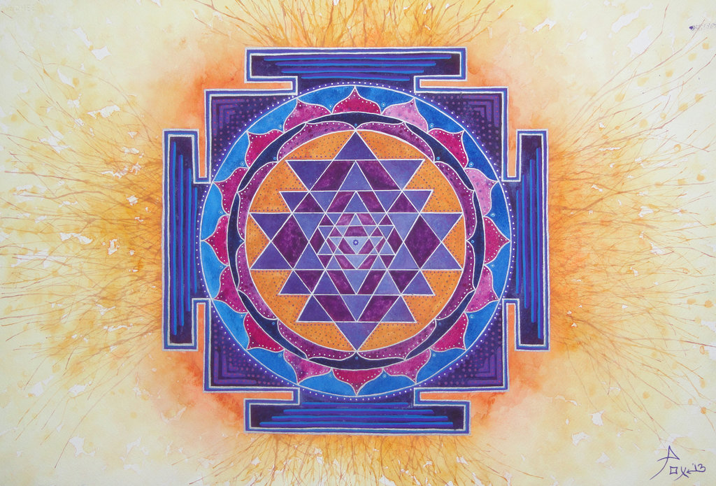 Sri Yantra Wallpaper