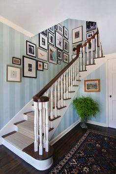 Surprising Wallpaper Stairs Ideas Pictures