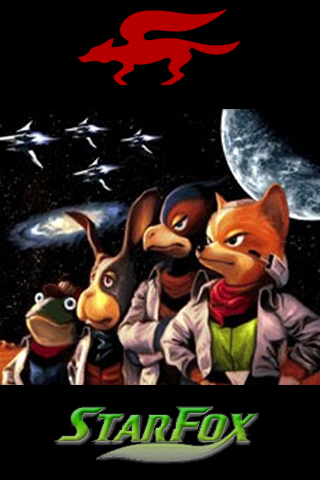Star Fox Iphone Wallpaper
