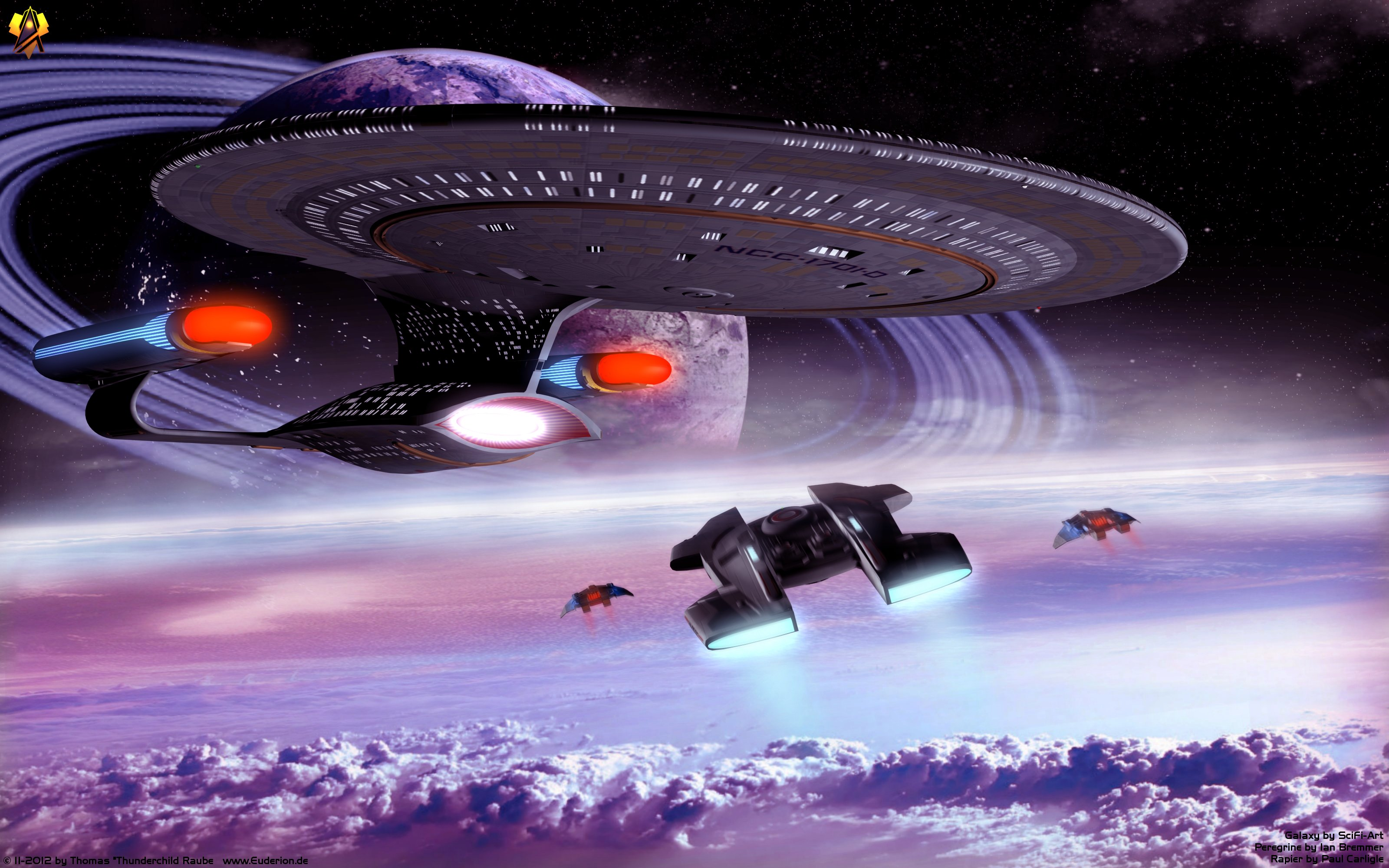Star Trek 3D Wallpaper