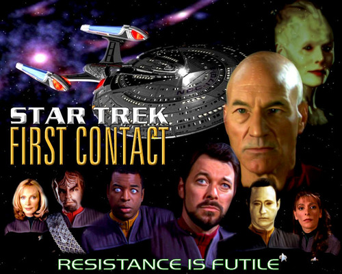 Star Trek First Contact Wallpaper