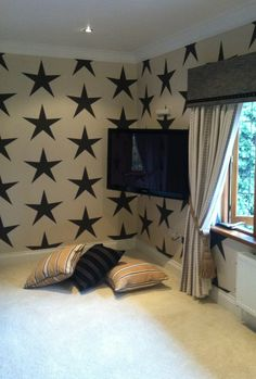 Star Wallpaper Bedrooms