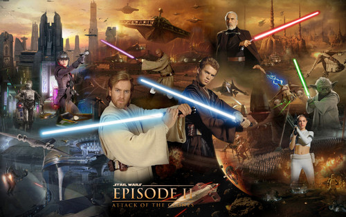 Star Wars Attack Of The Clones Wallpaper