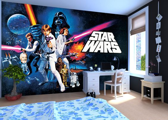 Star Wars Bedroom Wallpaper