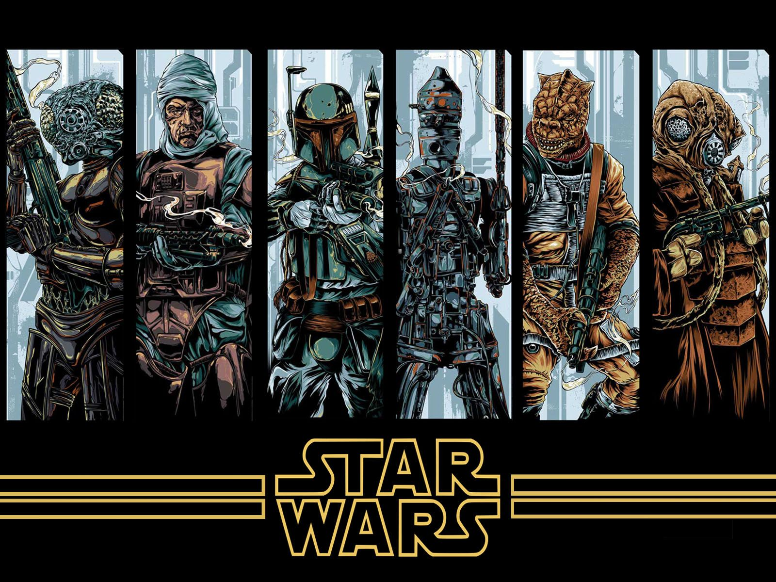 Star Wars Bounty Hunter Wallpaper