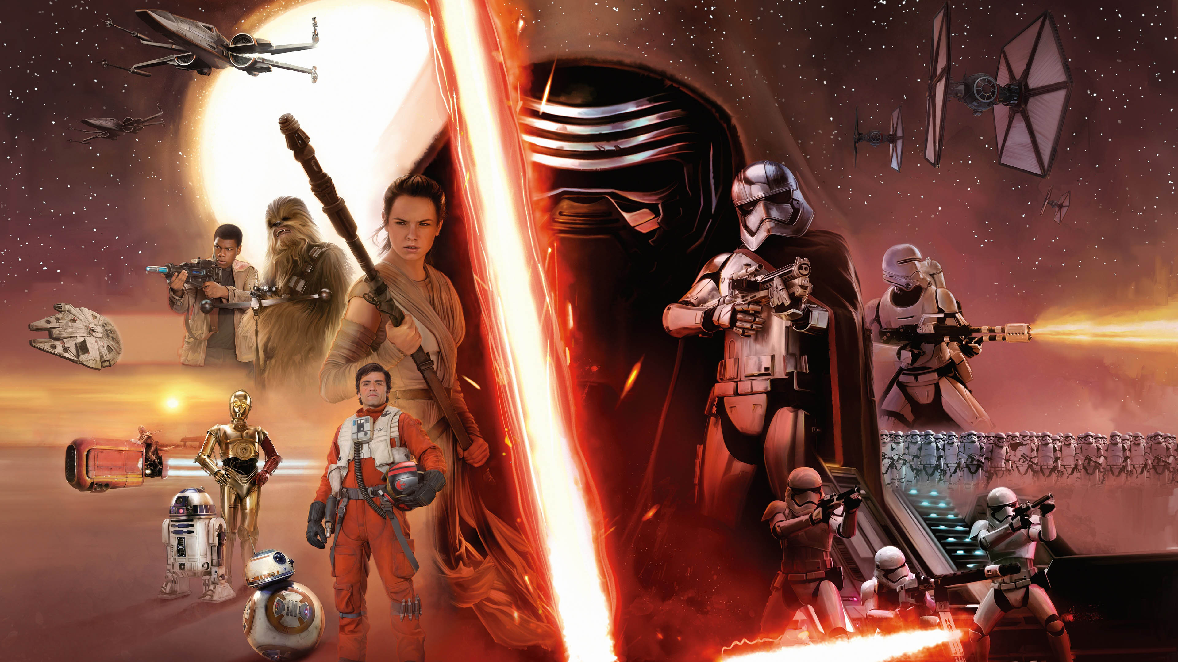 Star Wars Characters Wallpaper