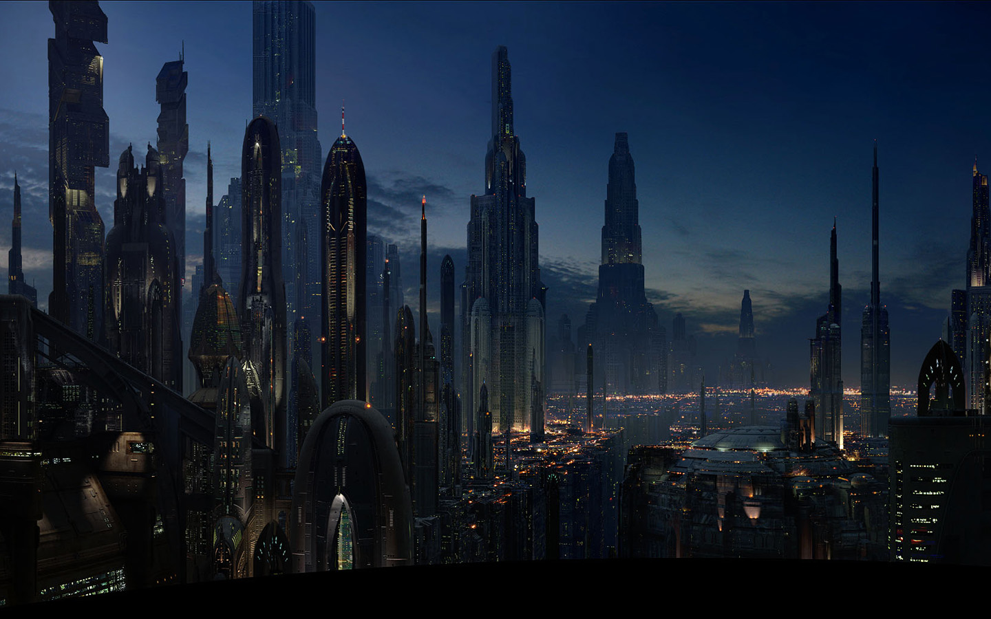 Star Wars City Wallpaper