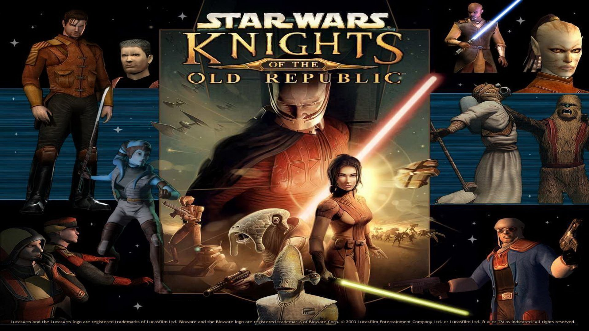 Star Wars Knights Of The Old Republic Wallpaper