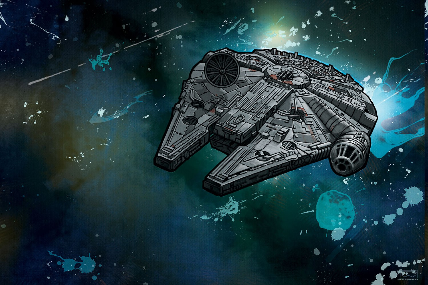 Falcon High Resolution Wallpapers: Download Star Wars Millenium Falcon Wallpaper Gallery