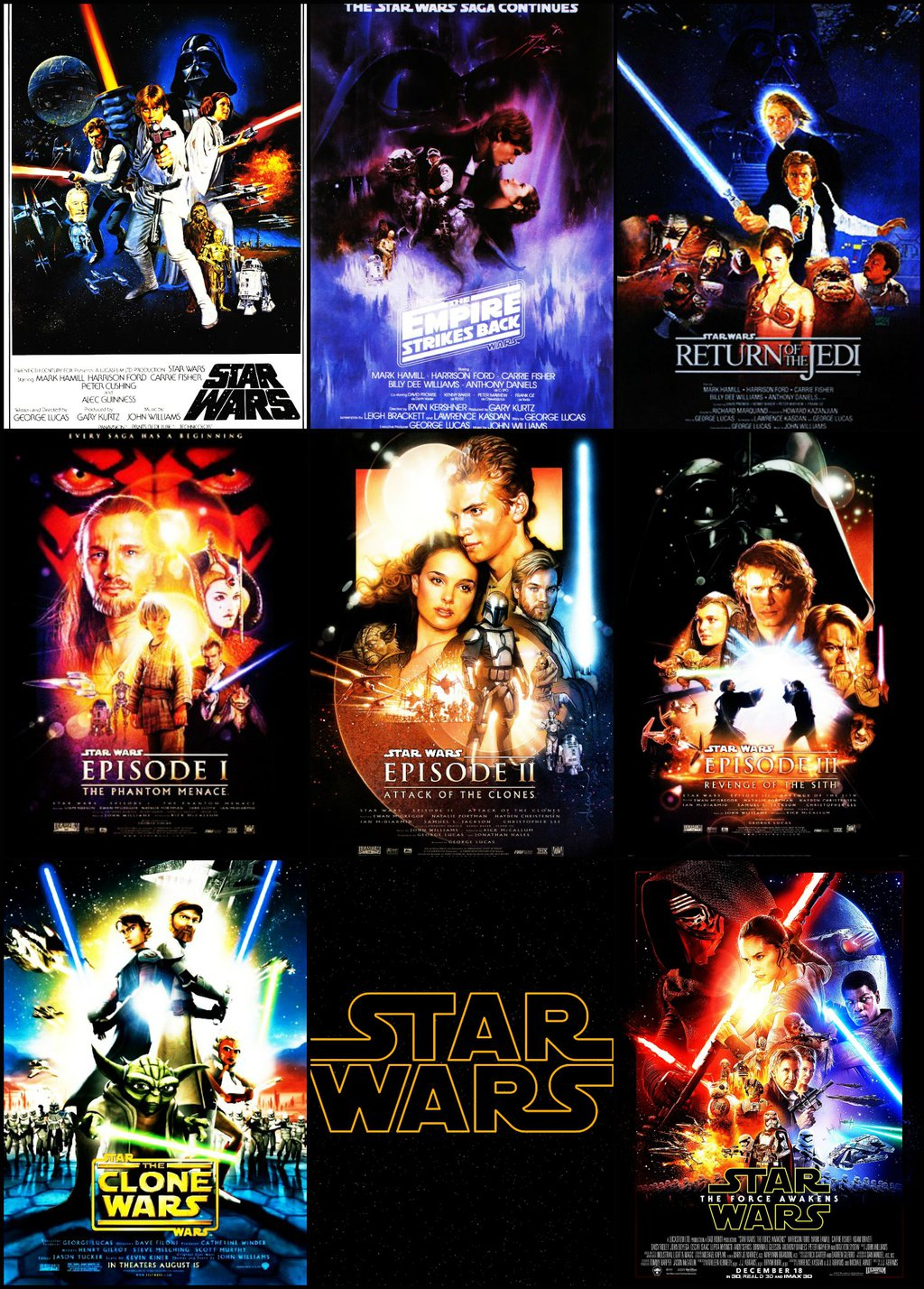Download Star Wars Movie Poster Wallpaper Gallery