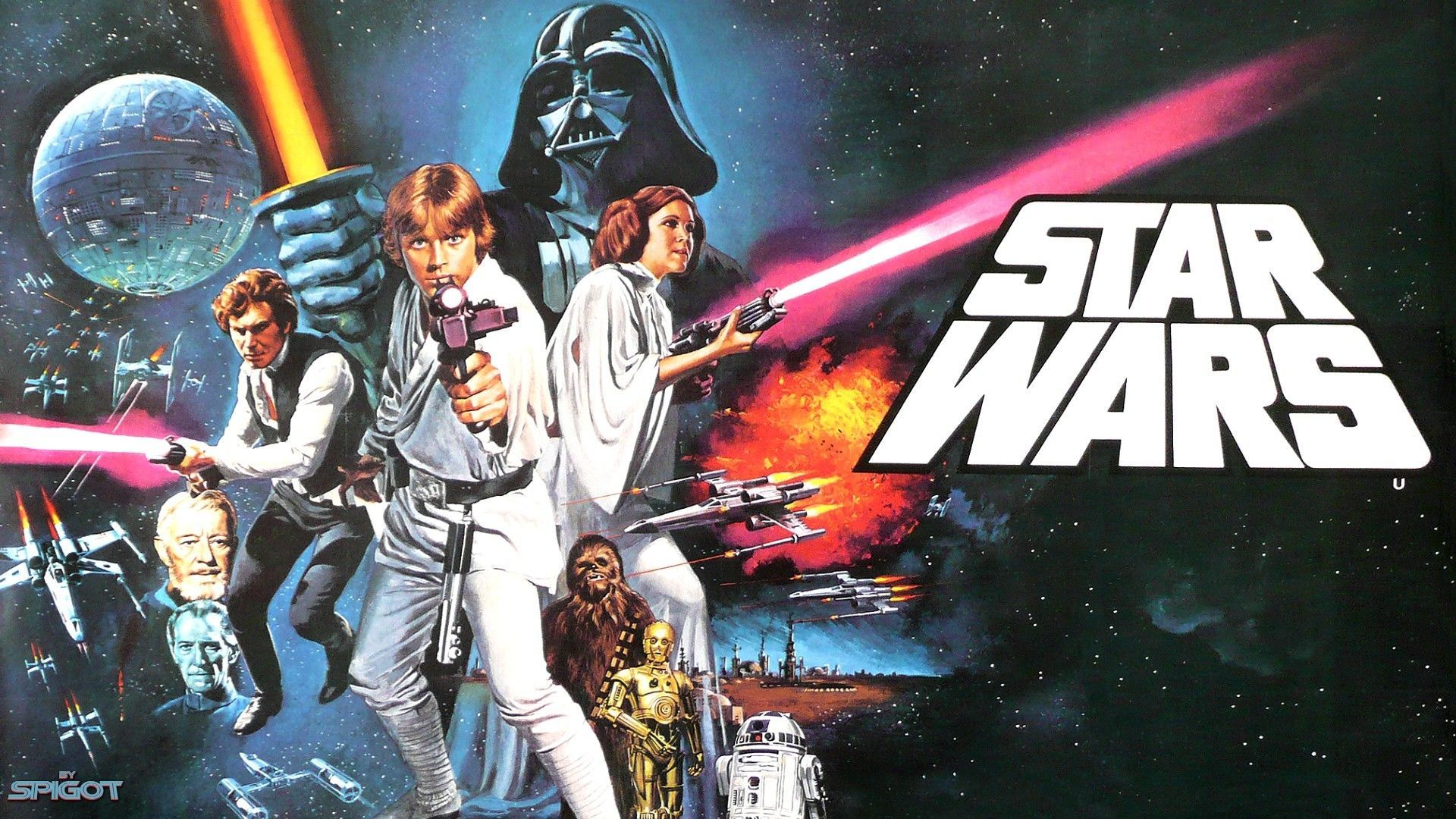 Star Wars Poster Wallpaper
