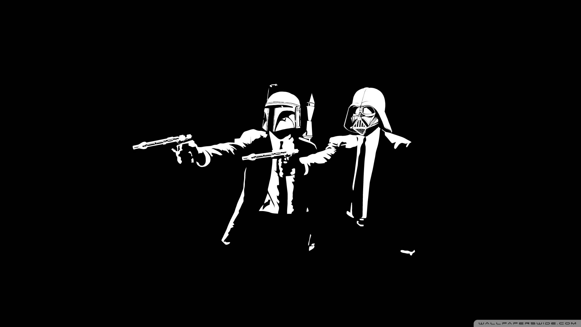 Star Wars Pulp Fiction Wallpaper