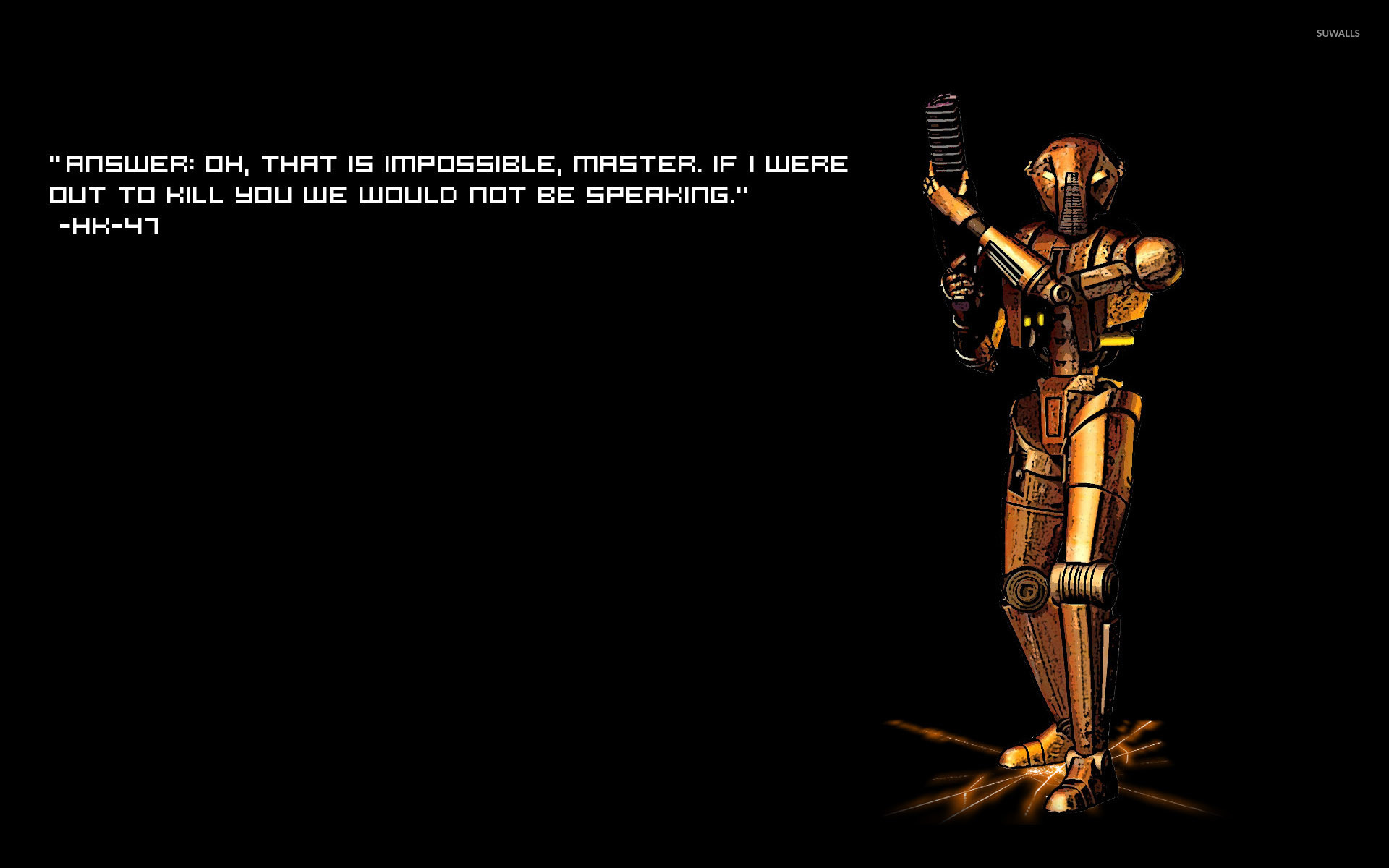 Star Wars Quotes Wallpaper