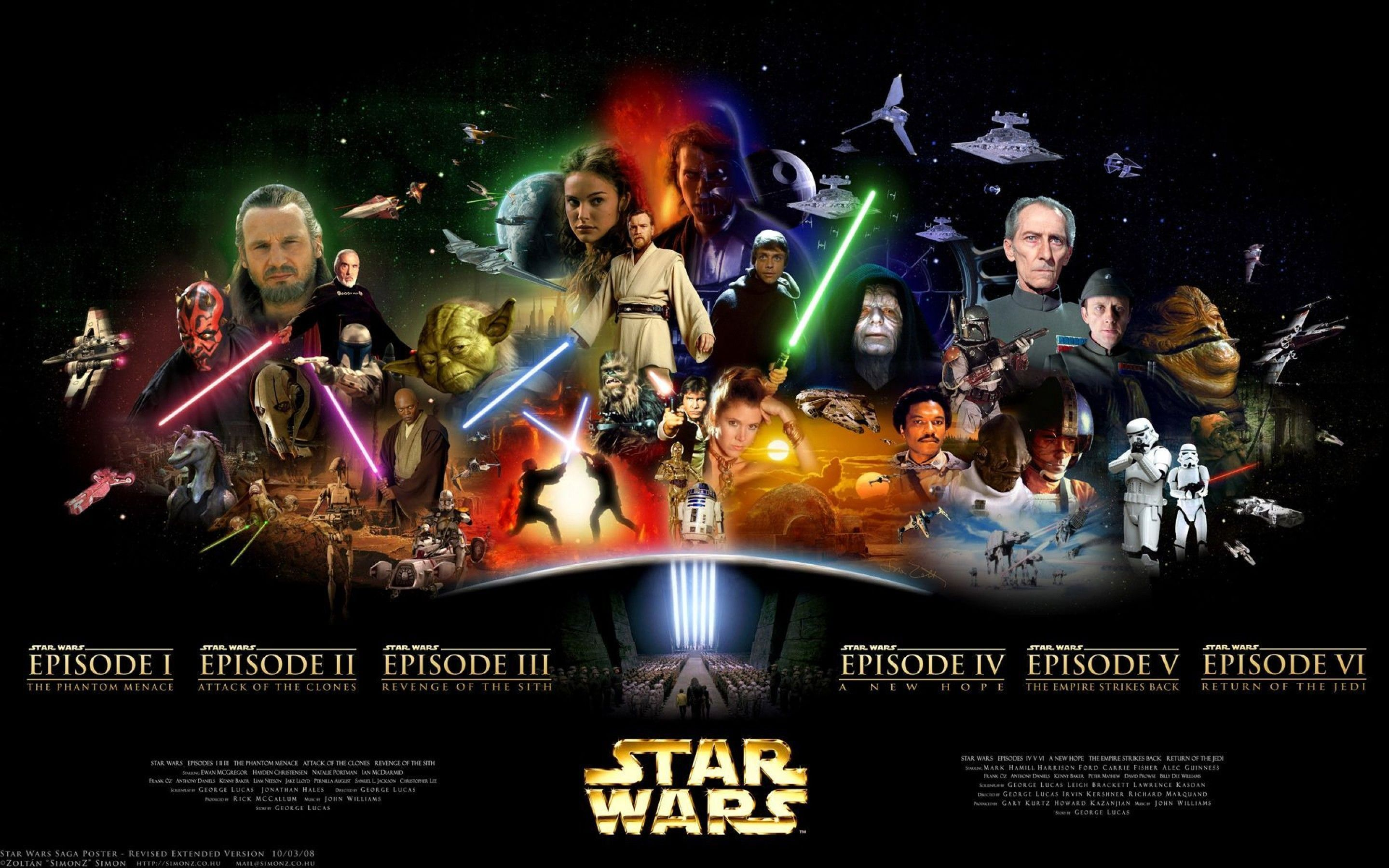 Star Wars Saga Wallpaper