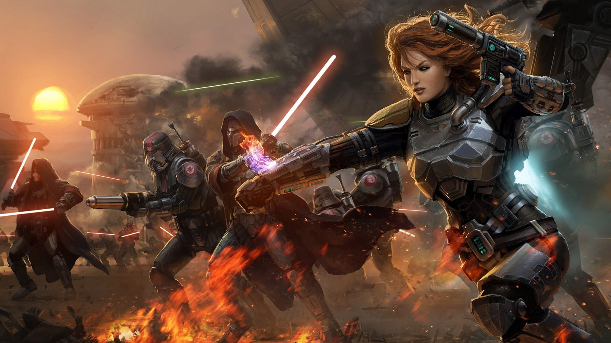 Star Wars The Old Republic HD Wallpaper