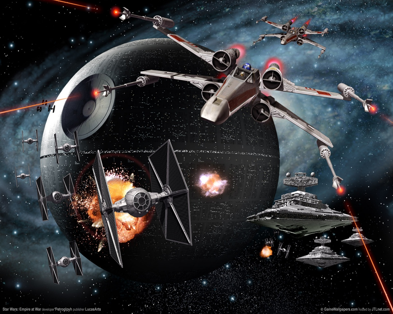 Star Wars Wallpaper 1280x1024