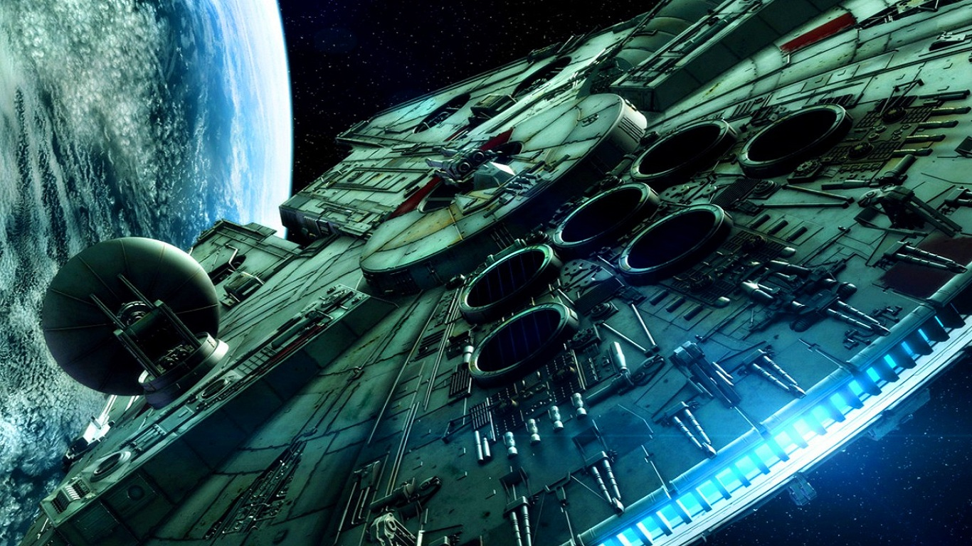 Star Wars Wallpaper 1366x768