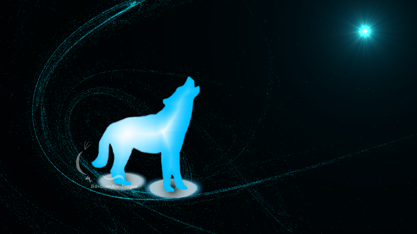Star Wolf Wallpaper