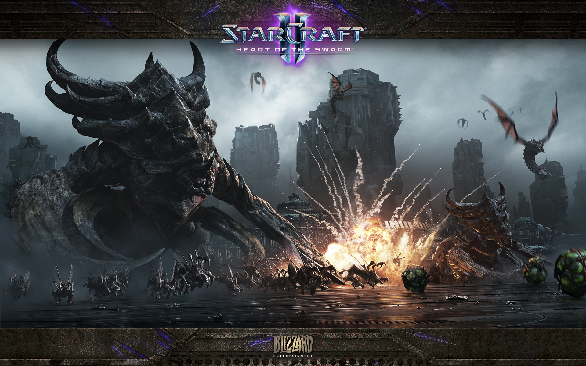 Starcraft 2 Heart Of The Swarm Wallpaper