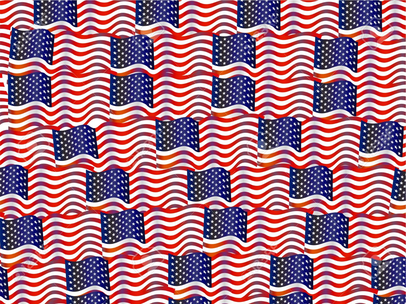 Stars And Stripes Wallpaper