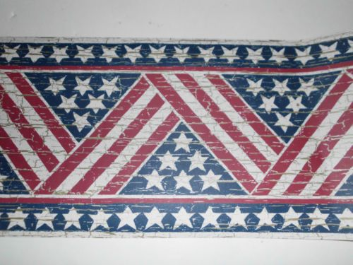 Stars And Stripes Wallpaper Border