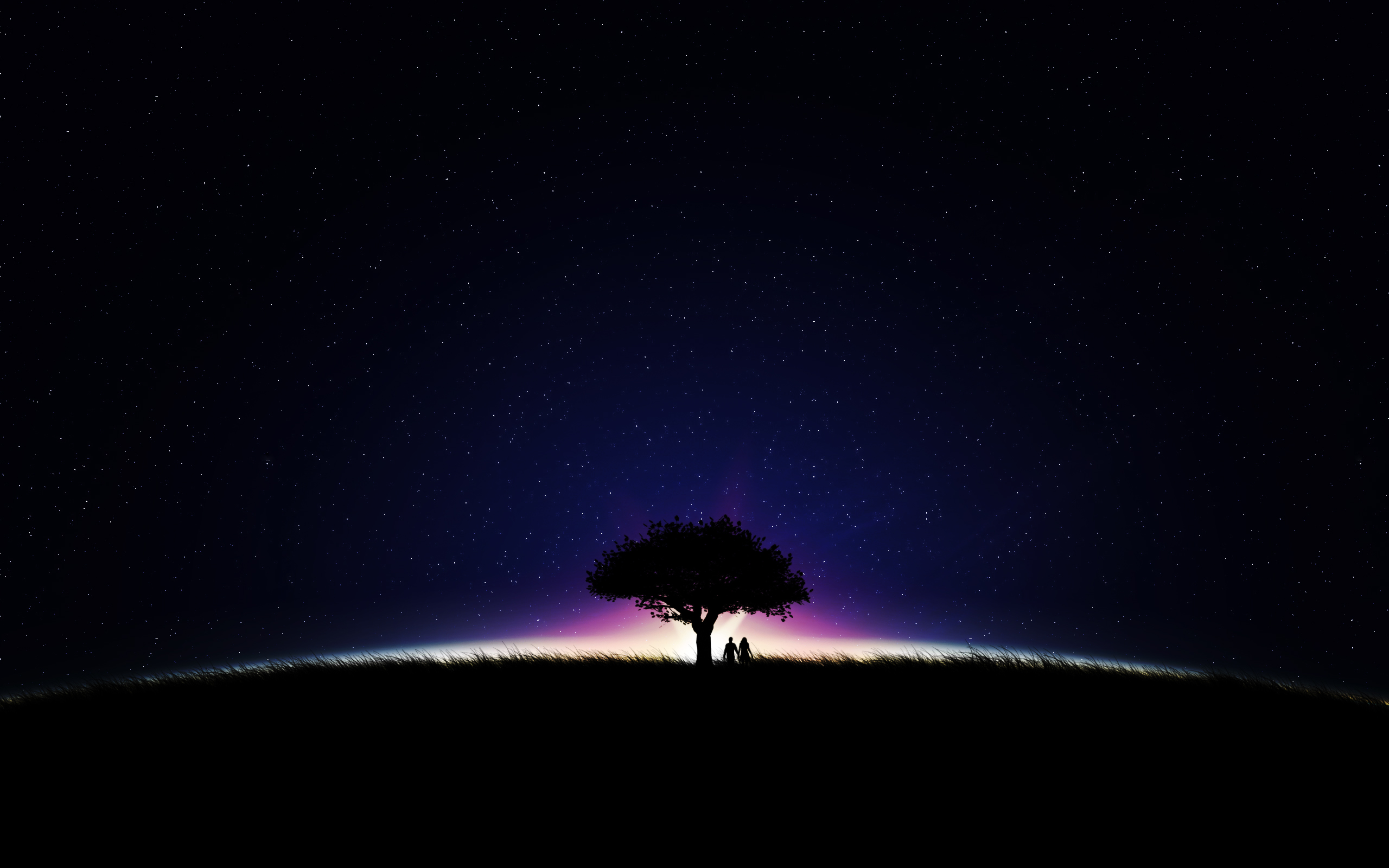 Stars In The Sky Wallpaper