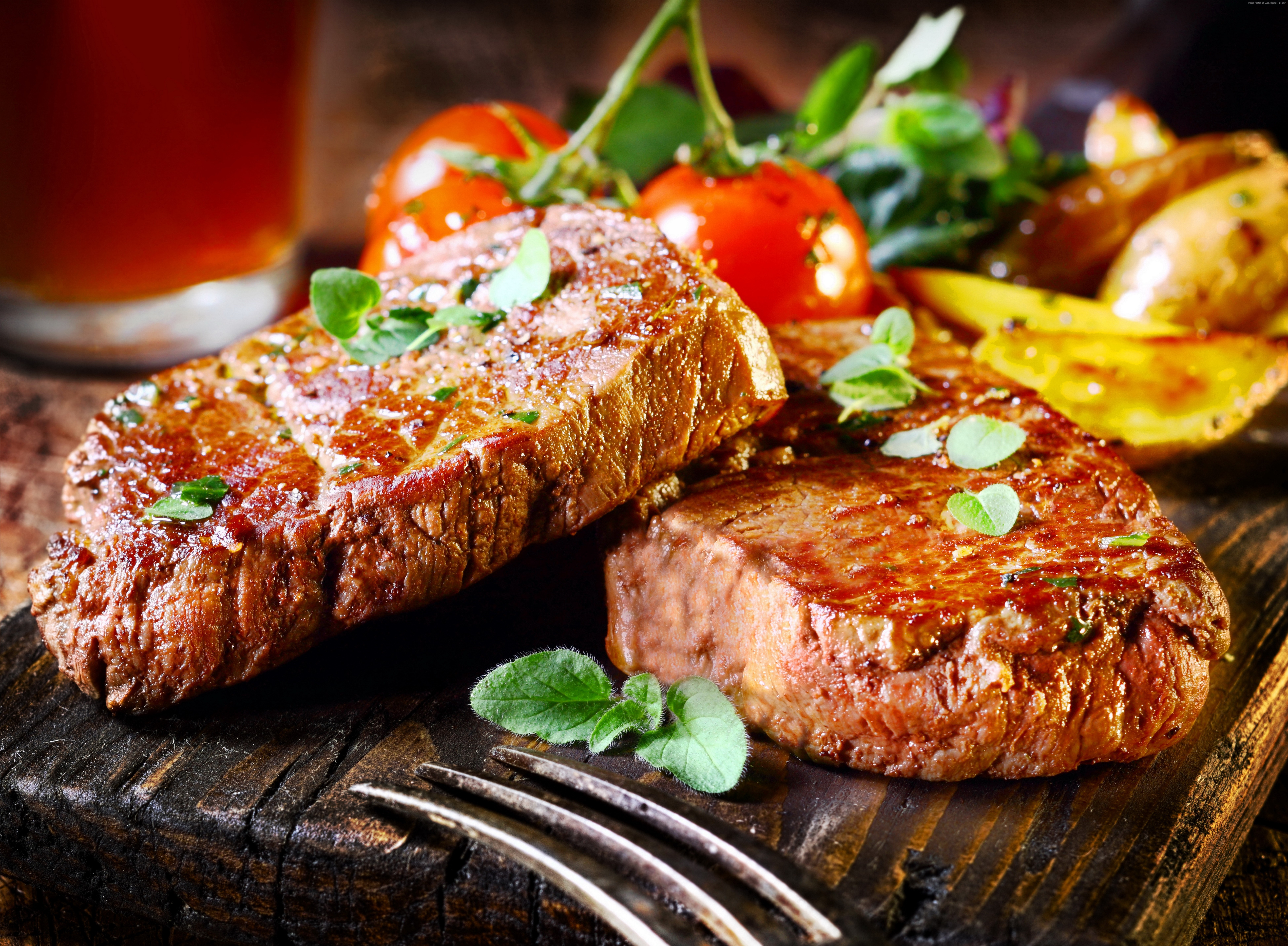 Steak Wallpaper