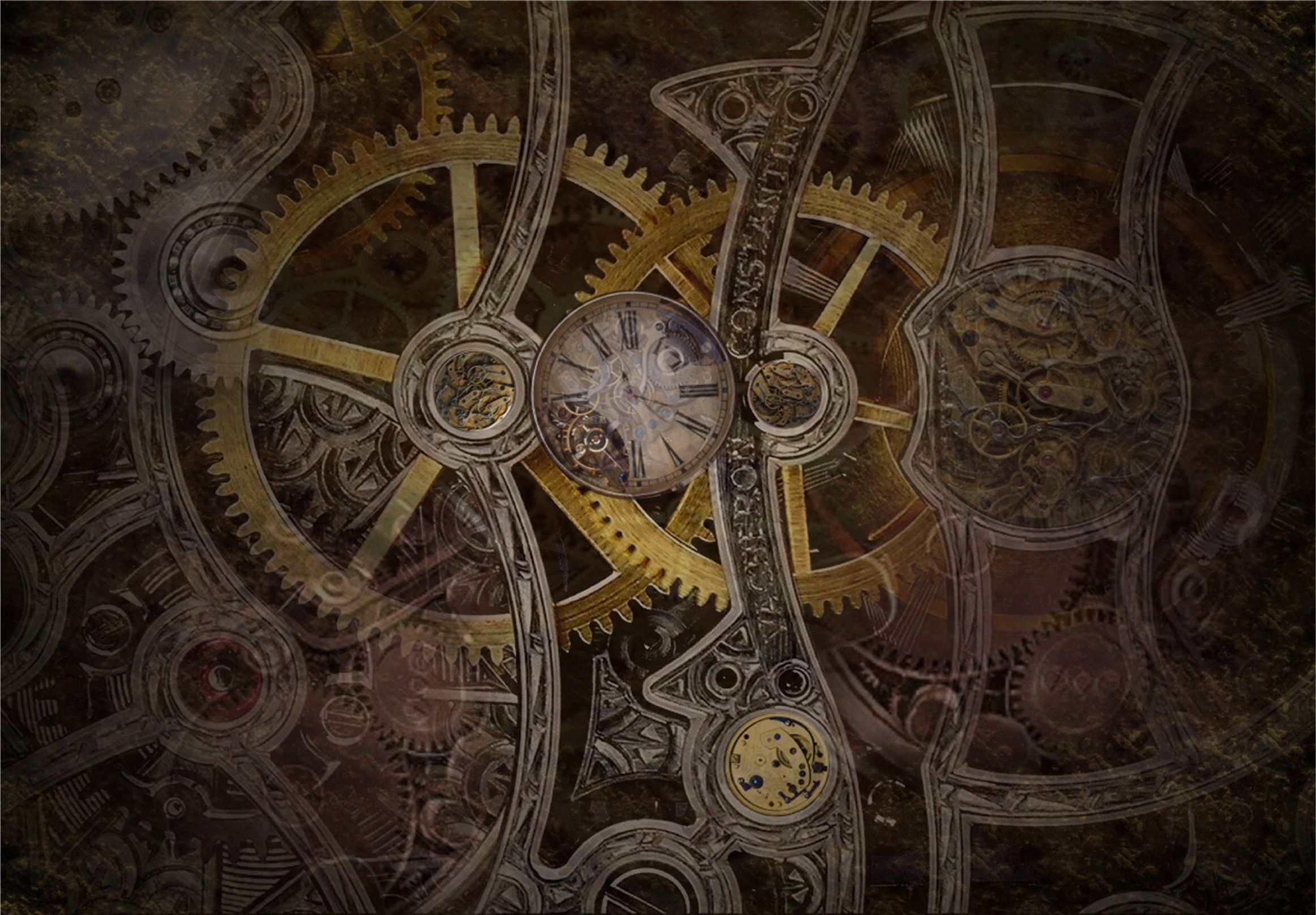 Steampunk Wallpaper For Walls