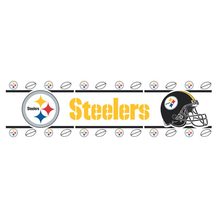 Steeler Wallpaper Border