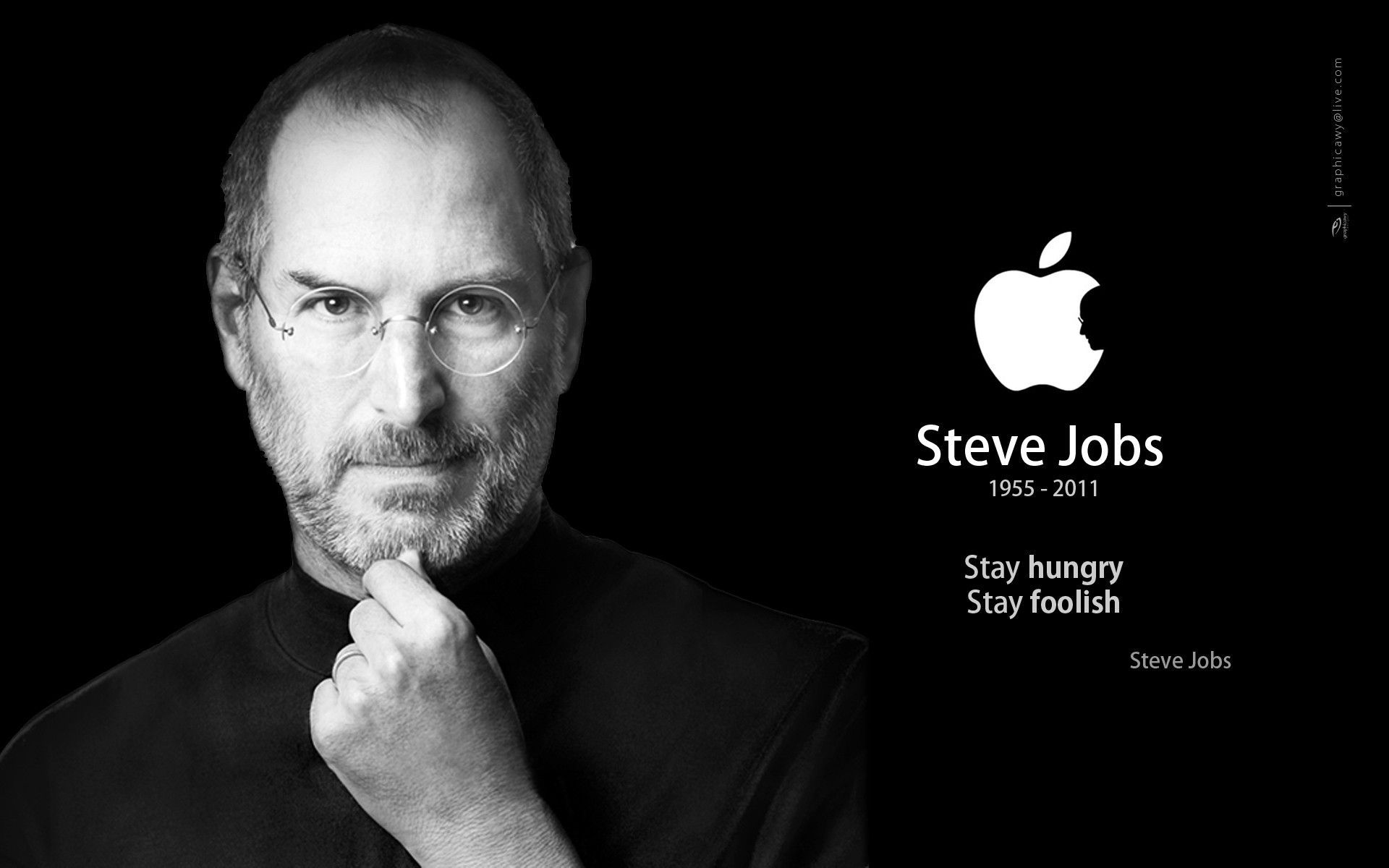 steve paul jobs Steve paul jobs quotes - 1 your work is going to fill a large part of your life, and the only way to be truly satisfied is to do what you believe is great work and the only way to do great work is to love what you do if you havent found it yet, keep looking dont settle as with all matters of the heart, you'll know when you find it.