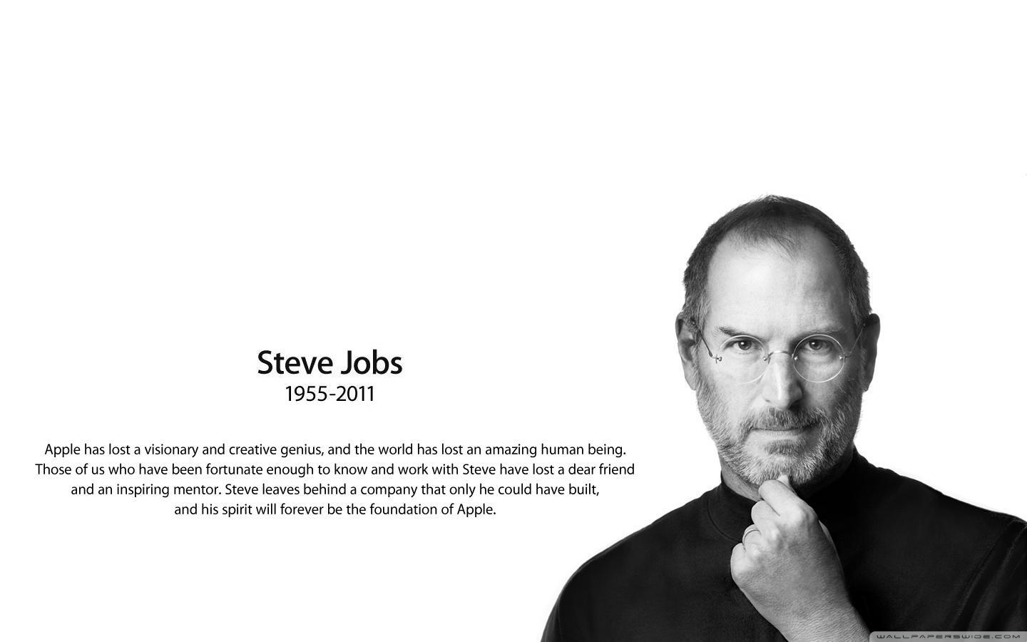Steve Jobs Wallpaper High Resolution