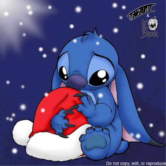Stitch Christmas Wallpaper