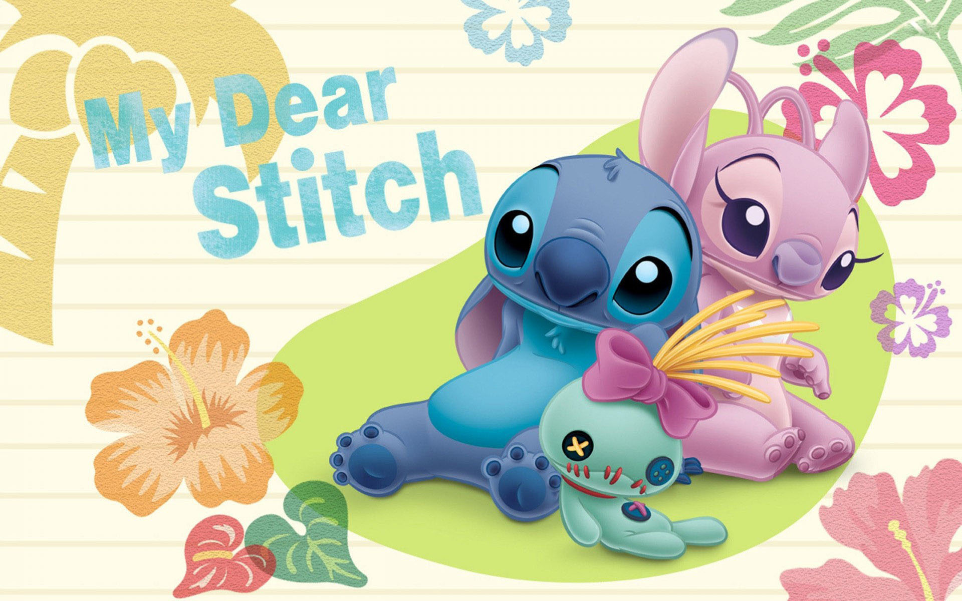 Stitch Wallpaper Free Download