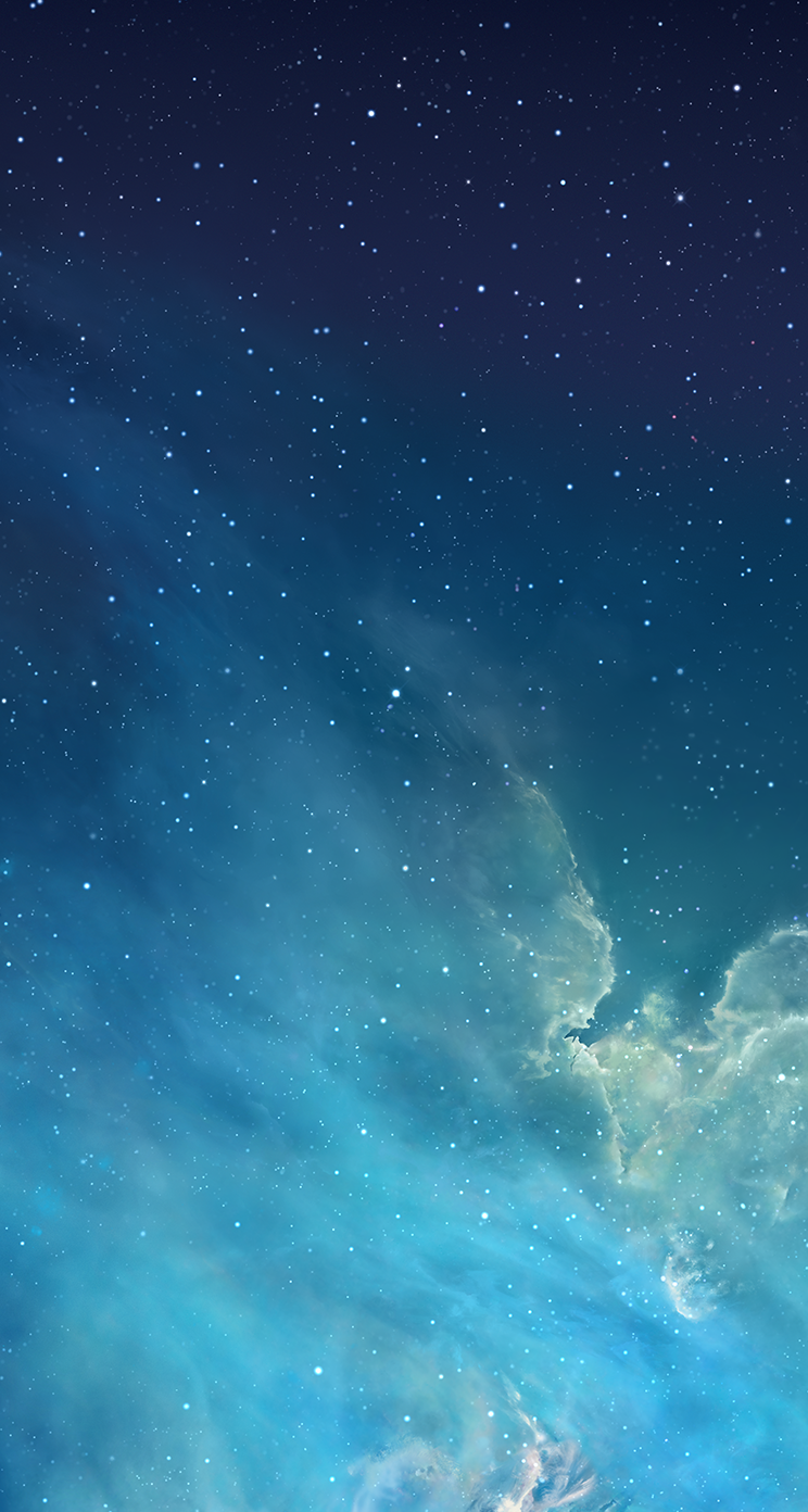 Stock IOS 7 Wallpapers