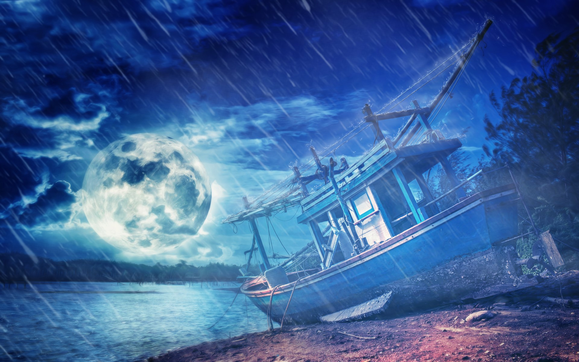 Download Stormy Night Wallpaper Gallery