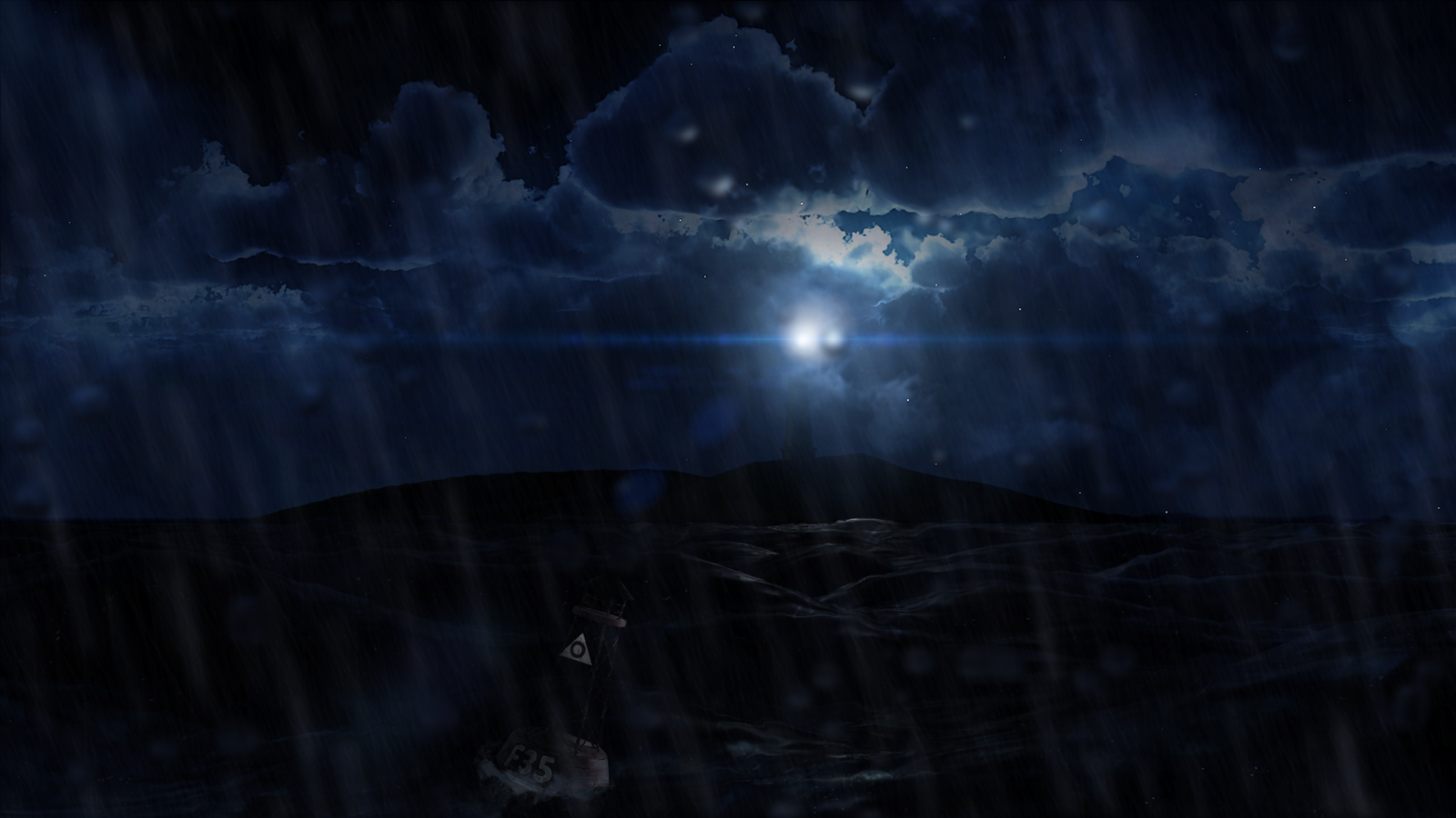 Stormy Night Wallpaper