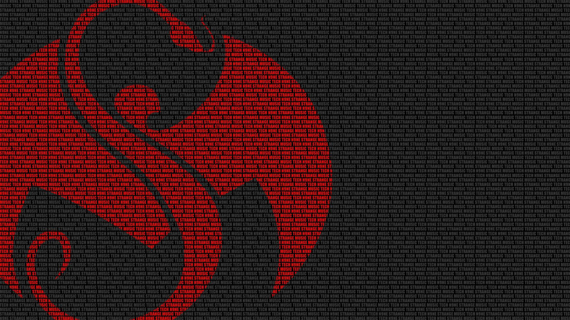 Strange Music Wallpaper