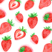 Strawberry Wallpaper For Walls
