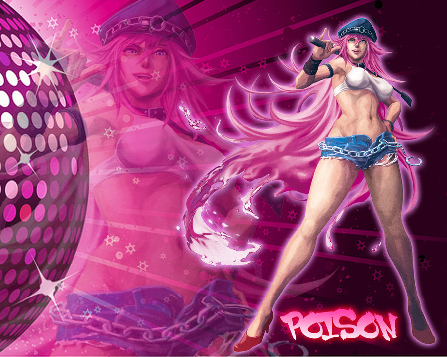 Street Fighter Poison Wallpaper