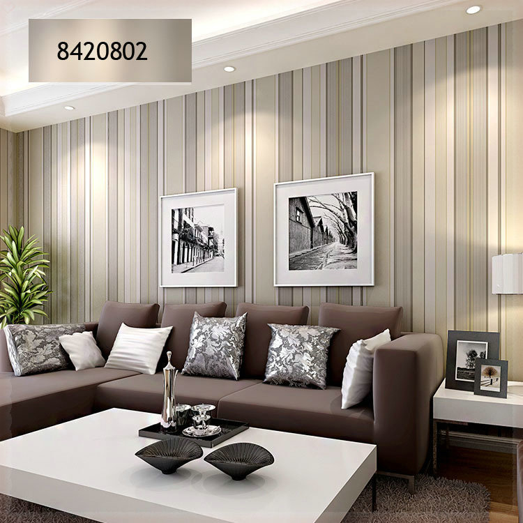 striped wallpaper living room ideas home mansion