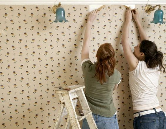 Stripping Wallpaper With Fabric Softener