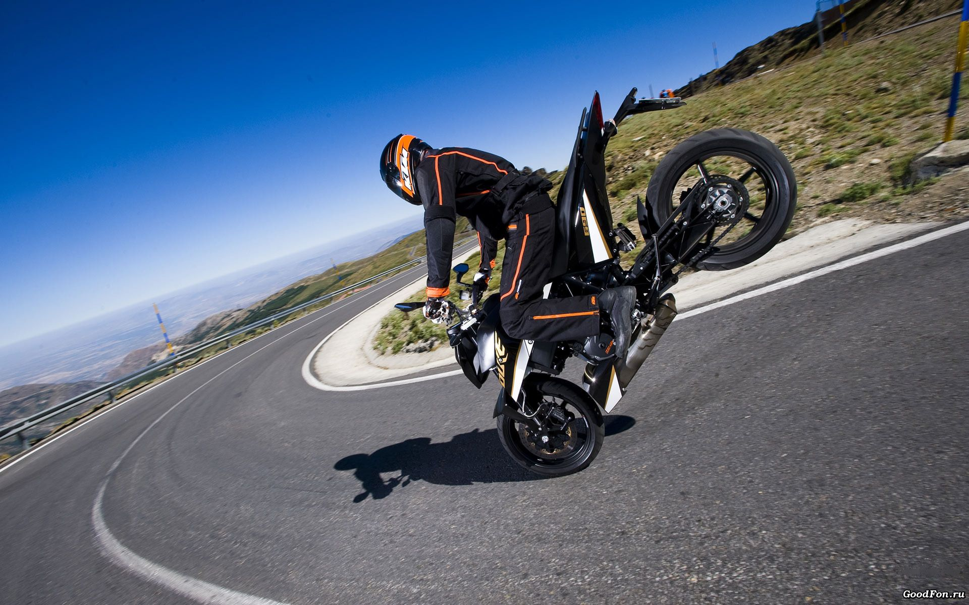 Stunt Bike HD Wallpaper