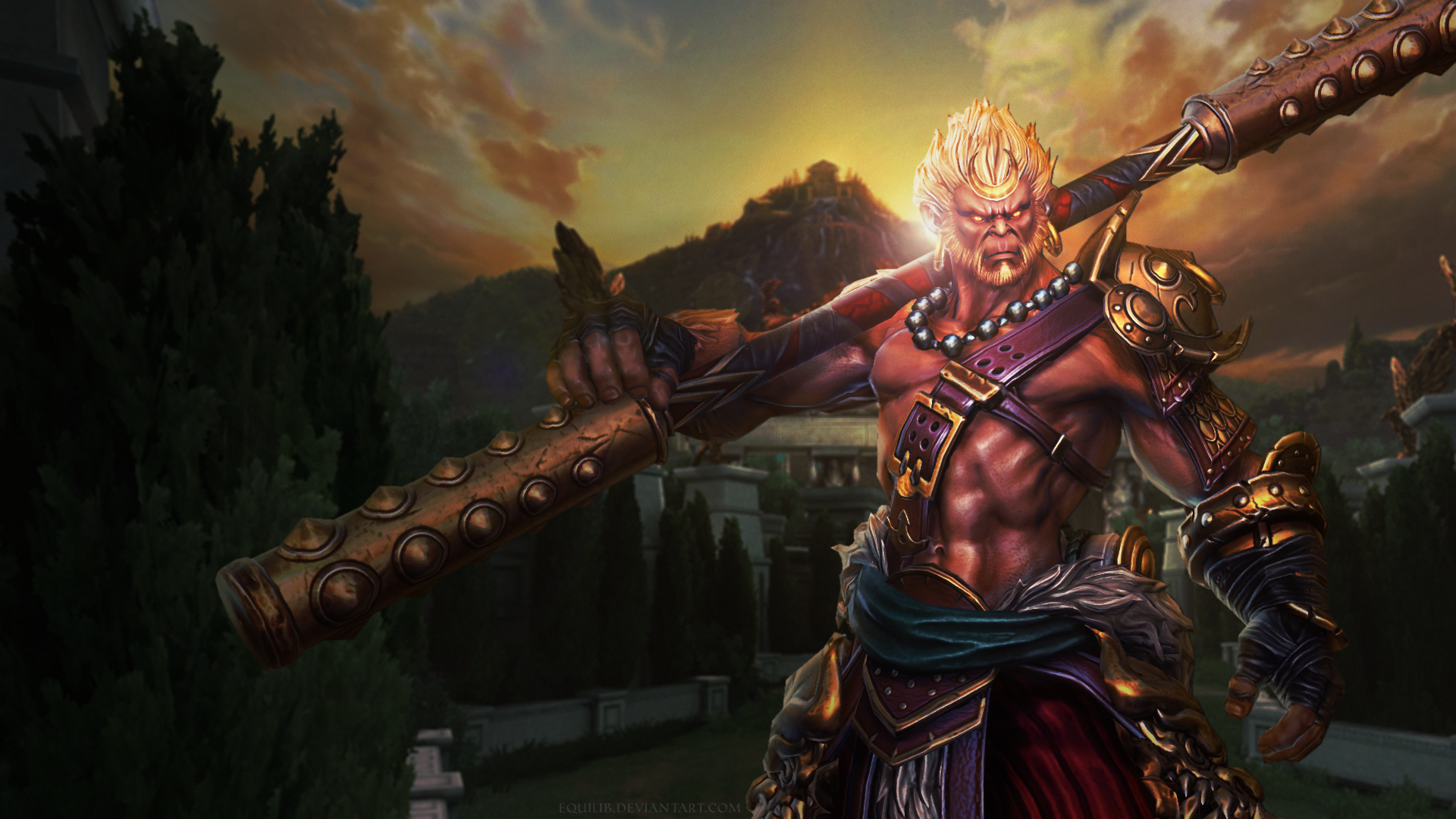 Sun Wukong Wallpaper