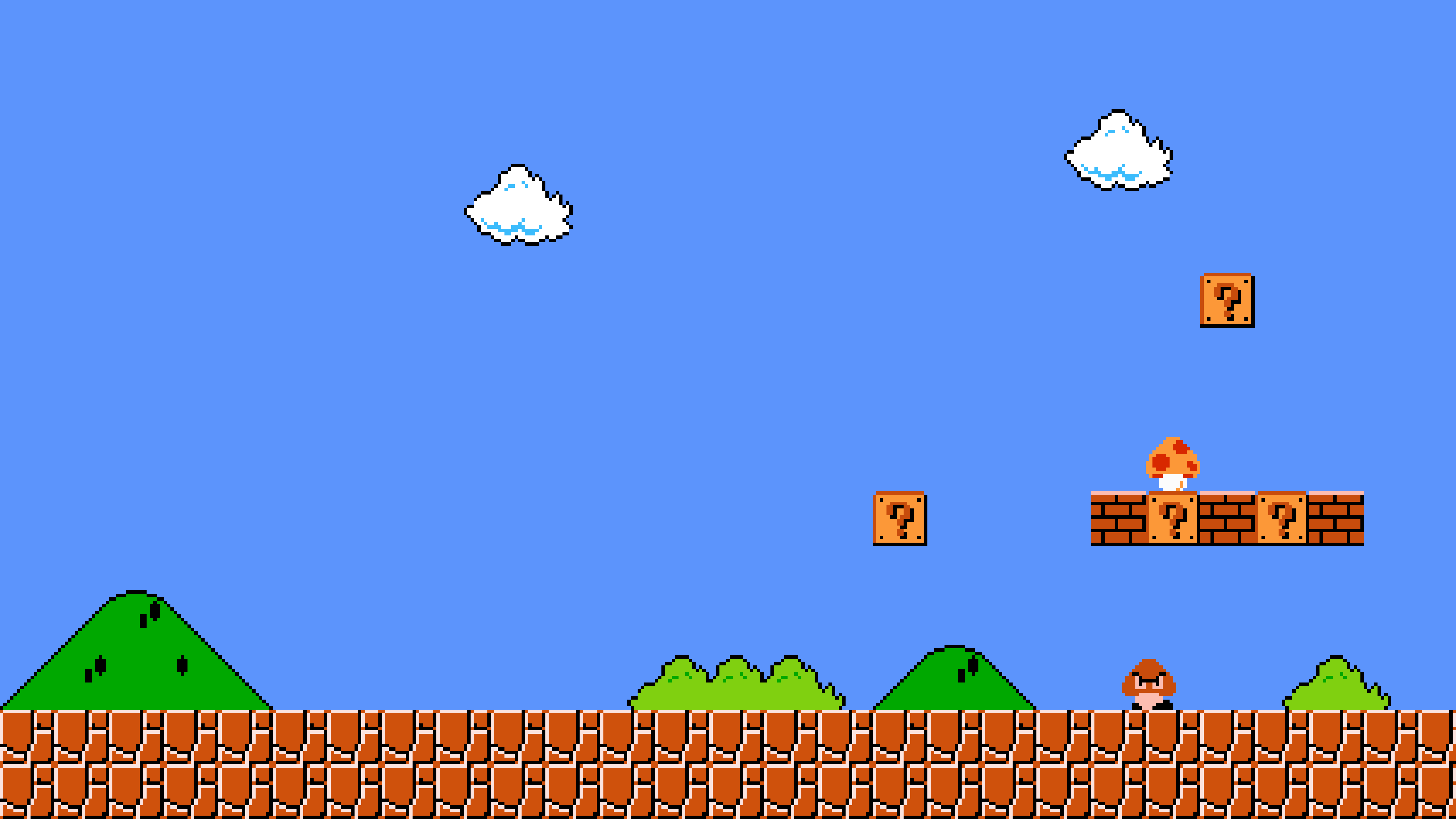 Super Mario Bro Wallpaper
