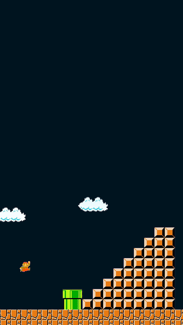 Super Mario Iphone 5 Wallpaper